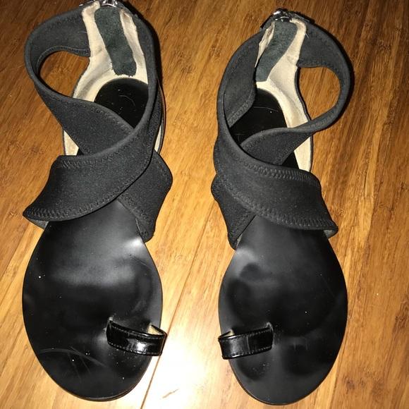 Michael Kors Toe Loop Ankle Strap